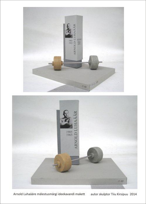 Arnold Luhaäärele mälestusmärgi püstitamise toetamine